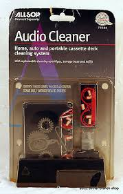 Audio Cassette Deck Cleaning System 73500 Two track